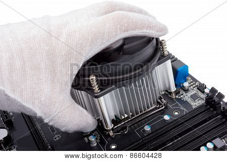 Electronic Collection - Installing Cpu Cooler