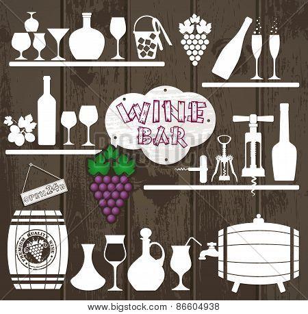 Vector Stock Illustration of vine