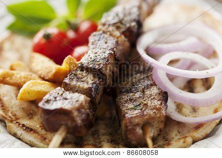 Souvlaki or kebab