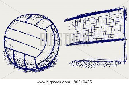 Equipment for volleyball
