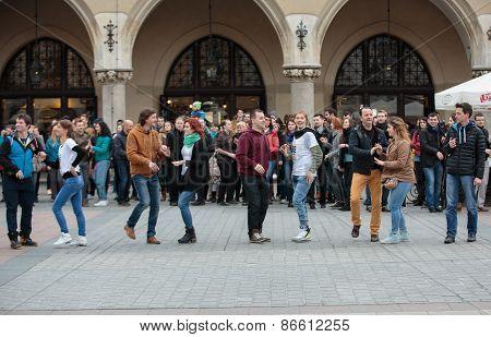 the international Flashmob day of rueda de Casino.