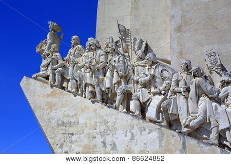 Monument to the Discoveries, Padrao dos Descobrimentos, Lisbon, Portugal