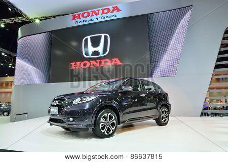 Bangkok - March 26 : Honda Hrv, Mini Suv, On Display At 36Th Bangkok International Motor Show On Mar