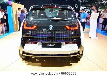 Bangkok - March 26 : New Bmw I3 Edrive On Display At 36Th Bangkok International Motor Show On March