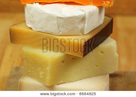Cheese Stacked