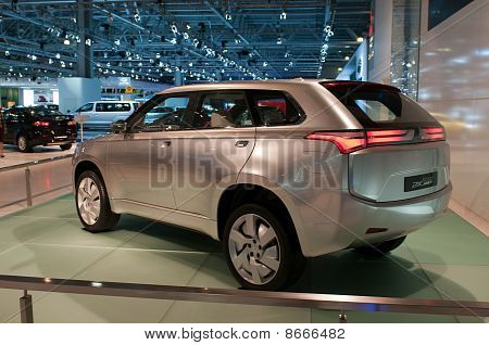 Mitsubishi PiEx MiEV concept car.