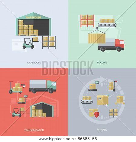 Warehouse Flat Set