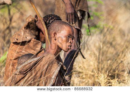 Young Bushmen woman