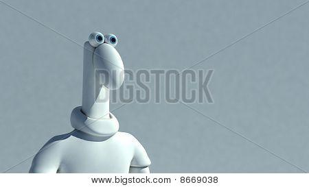 Surprised Plasticine Man
