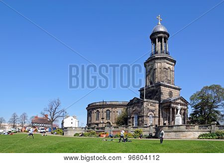 St Chads Church, Shrewsbury.