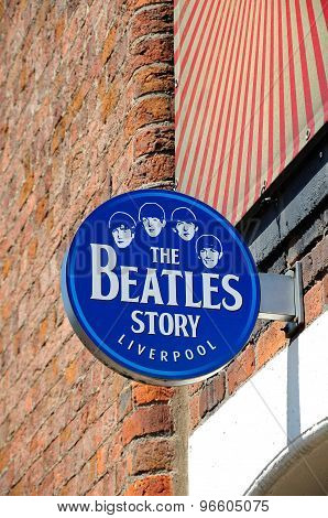 The Beatles Story Building, Liverpool.