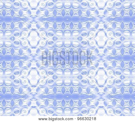 Seamless pattern blue white