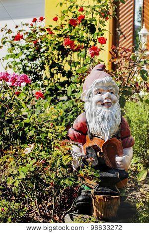 Stone garden farrier dwarf