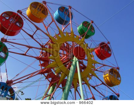 Kiddie Ferries Wheel
