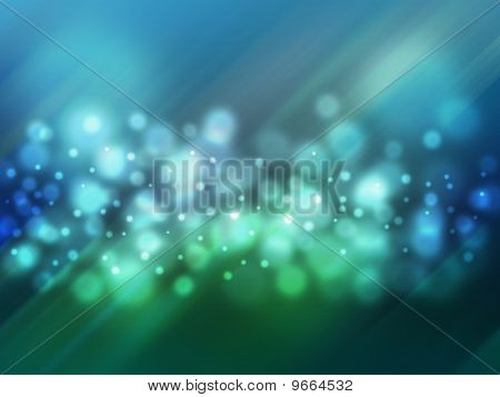 Magic Bokeh Abstract Light Background.