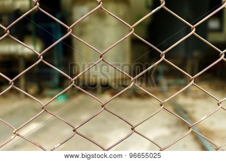 Old Steel Chain Link