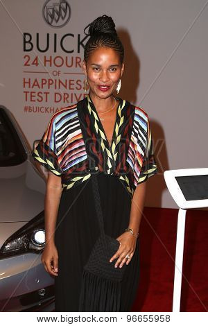 LOS ANGELES - JUL 22:  Joy Bryant at the 24 Hour Buick Happiness Test Drive Collaborators  at the Ace Museum on July 22, 2015 in Los Angeles, CA