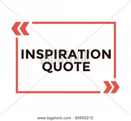 Inspiration quote. Motivation, sport, quote and note. Vector stock element for design