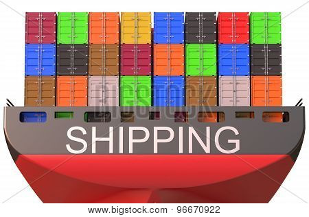 Container Ship, Shipping Concept