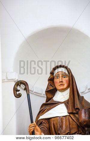 Statue Of Virgen De Copacabana