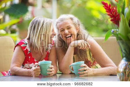 Girlfriends Laughing