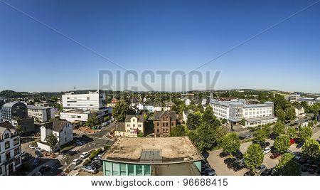 View To City Of Wetzlar, Germany