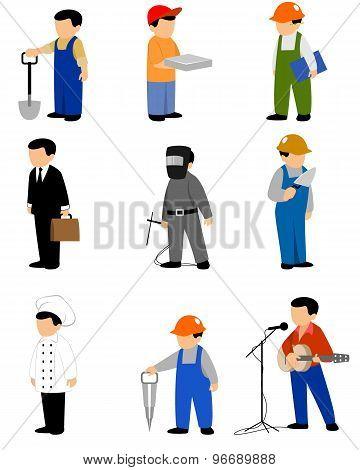 Nine Professions Set