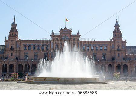Spain Square Fountain