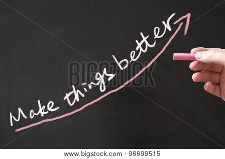 Make Things Better Concept