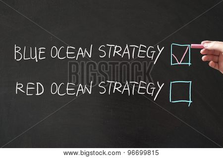 Blue Or Red Ocean Strategy