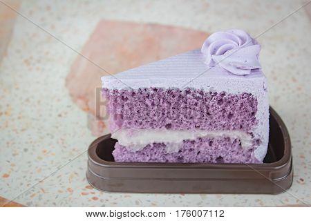 Taro Cake.