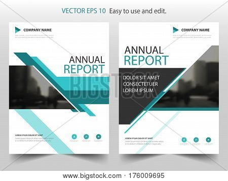 BLue line Vector Brochure annual report Leaflet Flyer template design book cover layout design abstract business presentation template a4 size design