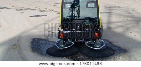 Sweeper Utility Vehicle