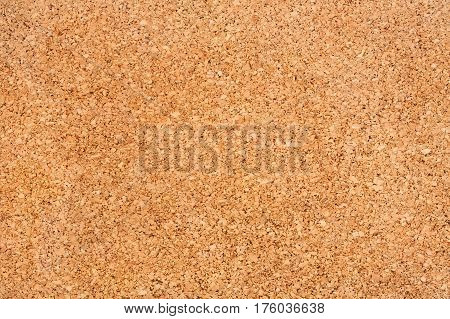 Wooden Brown Background Texture Of Cork Close Up.