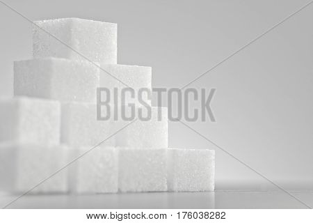Pile Of Lump Sugar