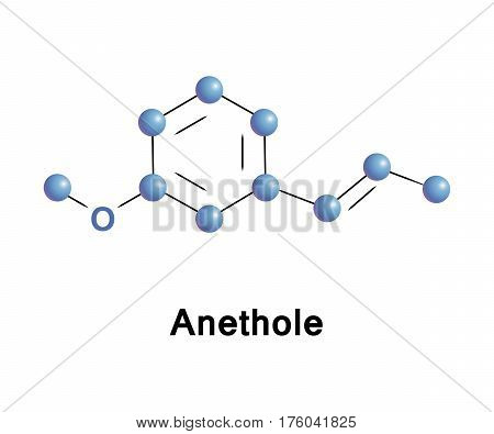Anethole, anise camphor, is an organic compound that is widely used as a flavoring substance. It is a derivative of phenylpropene, occurs widely in nature, in essential oils
