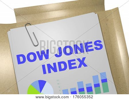 Dow Jones Index - Business Concept