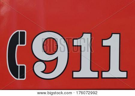 call 911, fire, fireman's parade, help, call for help