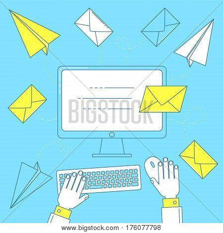 Send A Letter, Email Marketing