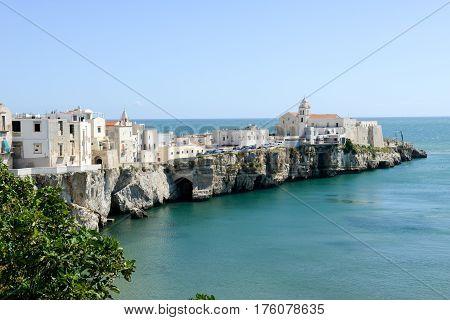 View Of Vieste On Puglia