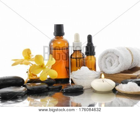 Spa Background with spa set