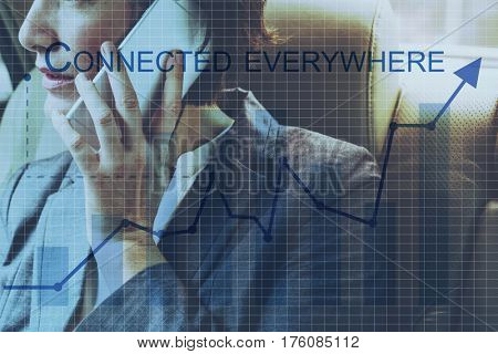 Connected Everywhere Network Word