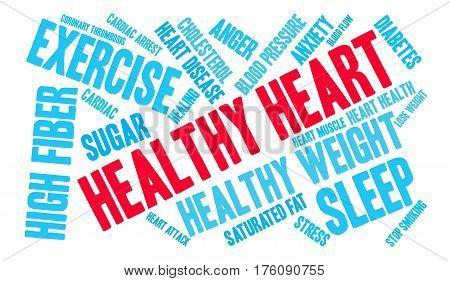Healthy Heart Word Cloud