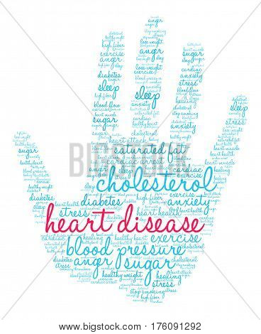Heart Disease Word Cloud