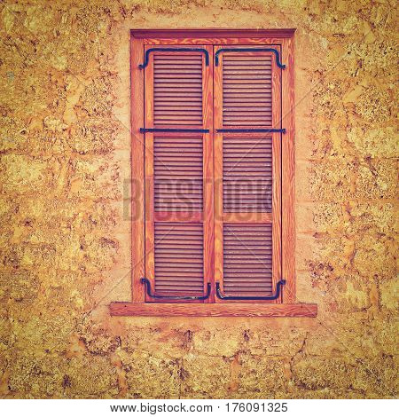 Facade of Old Building after Reconstruction in Tel Aviv Instagram Effect