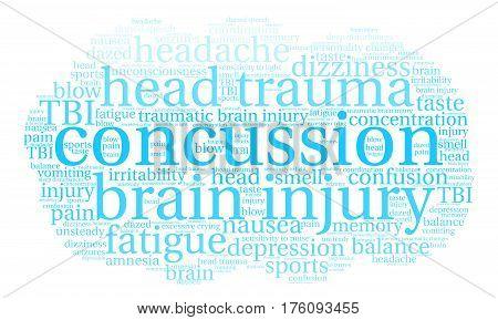 Concussion Word Cloud