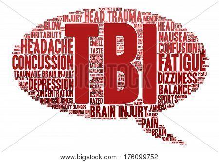 Tbi Word Cloud