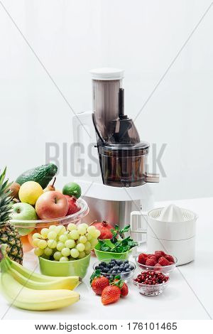 Fresh Fruit And Juicers