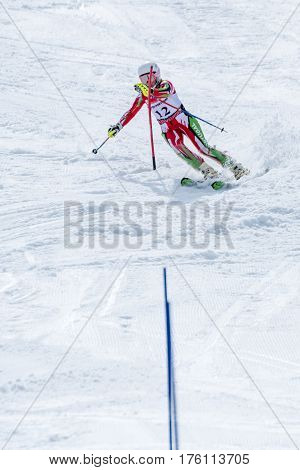 Catarina Carvalho During The Ski National Championships