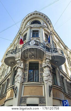 Embassy of Italy Old City of Riga Latvia
